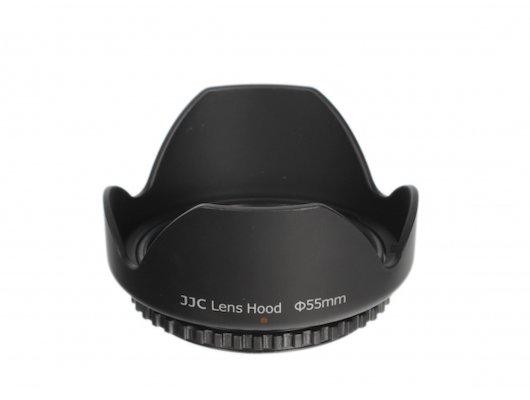 Бленда JJC LS-55 пластиковая 55mm