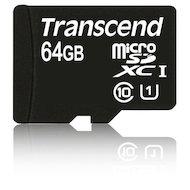 Фото Карта памяти Transcend microSDXC 64Gb Class 10