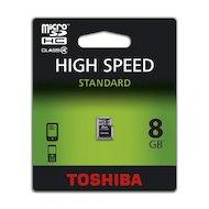Карта памяти Toshiba microSDHC 8Gb Class 4 SD-C08GJ (BL5/6)