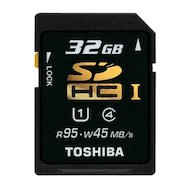 Фото Карта памяти Toshiba SDHC 32Gb Class 10 SD-T032UHS1(BL5/6)