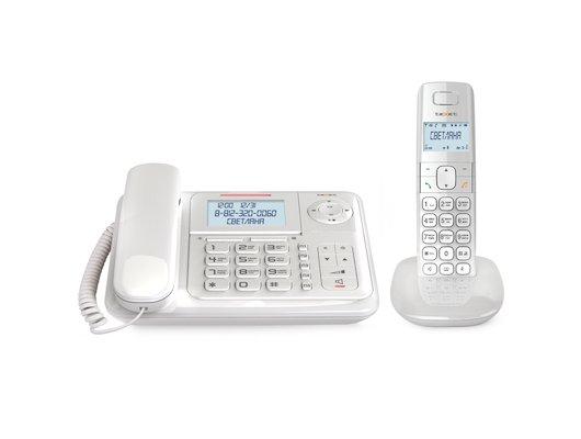 Радиотелефон TeXet TX-D7055A Combo белый