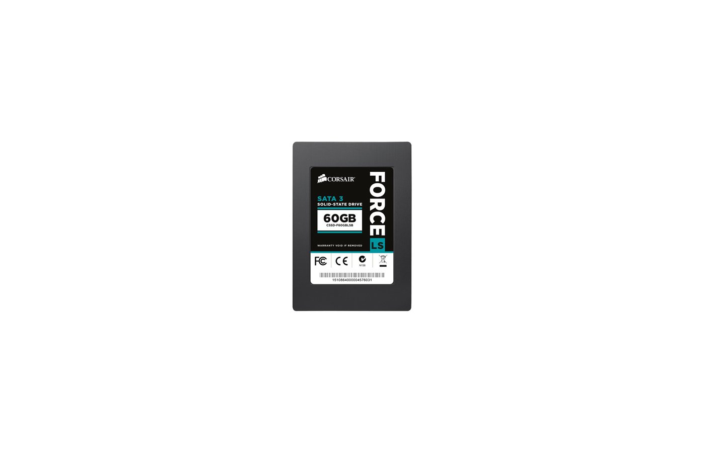 SSD жесткий диск Corsair SATA-III 60Gb CSSD-F60GBLSB Force LS 2.5