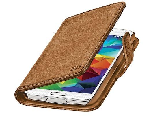 Чехол Promate Zimba-S5 для Samsung Galaxy S5 (SM-G900) коричневый