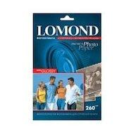 Фотобумага Lomond 1103104 A5/260г/м2/20л. высокоглянцевая для струйной печати (210х148мм)