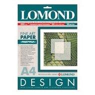 """Фотобумага Lomond 0925041 A4/200г/м2/10л. матовая """"Ящерица"""" для струйной печати ярко-белая дизайнерская"""