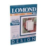 """Фотобумага Lomond 0919041 A4/200г/м2/10л. матовая """"Ткань"""" для струйной печати"""