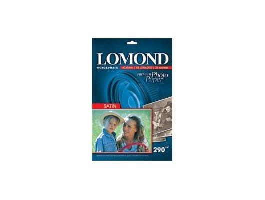 Фотобумага Lomond 1108200 A4/290г/м2/20л. сатин для струйной печати