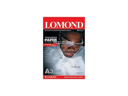 Фотобумага Lomond 0808315 A3/140г/м2/50л. Термотрансфер для струйной печати для светлых тканей