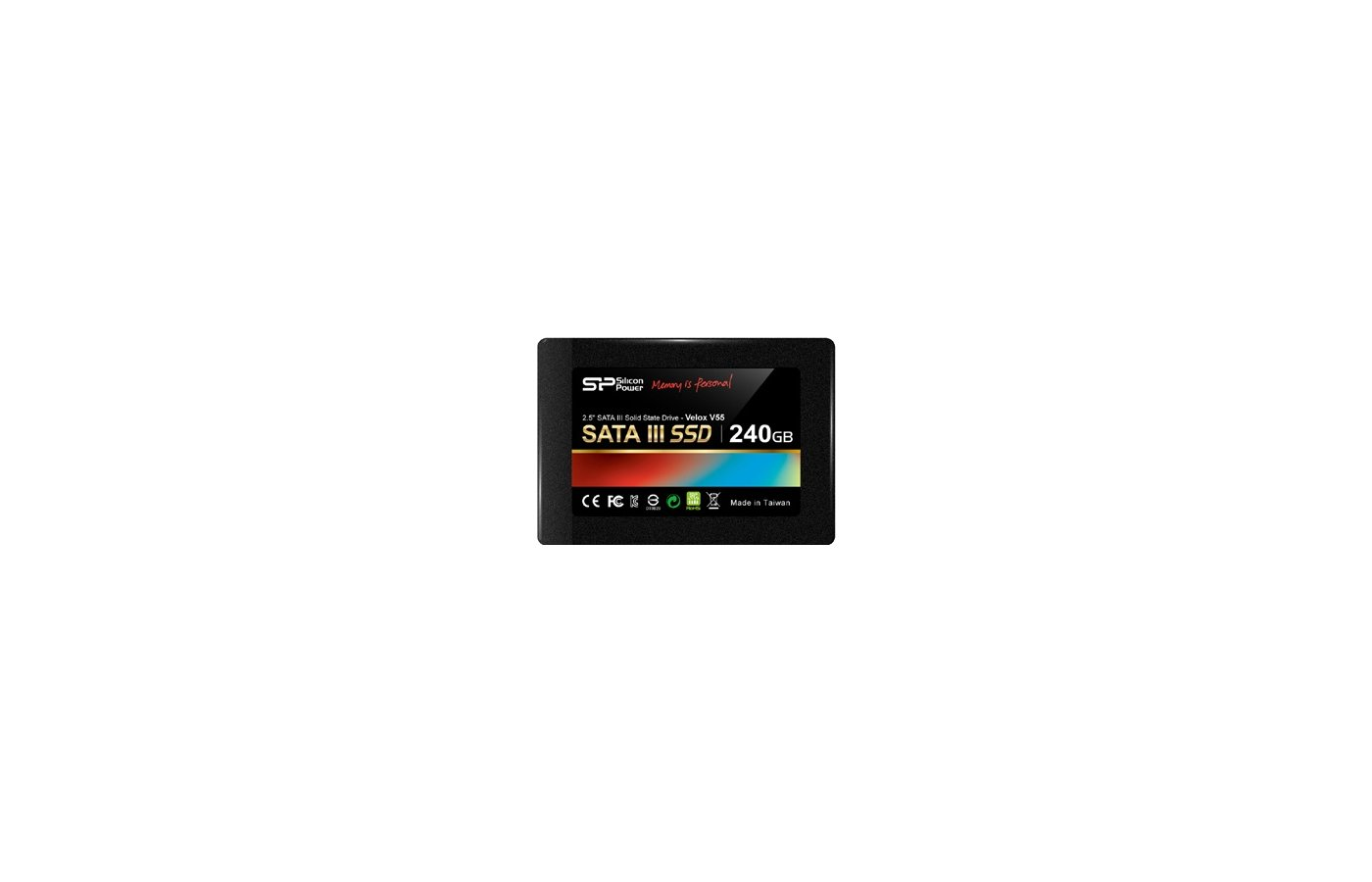 "SSD жесткий диск Silicon Power SATA-III 240Gb SP240GBSS3V55S25 V55 2.5"" w490Mb/s"