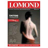 Фотобумага Lomond A4/10л./прозрачный Пленка самоклей. для струйной печати втулка:50.8мм (2)