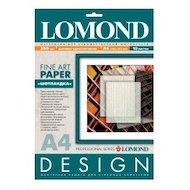 """Фотобумага Lomond 0921041 A4/200г/м2/10л. матовая """"Шотландка"""" для струйной печати ярко-белая дизайнерская"""
