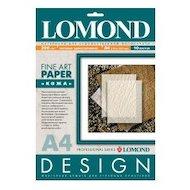 """Фотобумага Lomond 0917041 A4/200г/м2/10л. матовая """"Кожа"""" для струйной печати ярко-белая дизайнерская"""