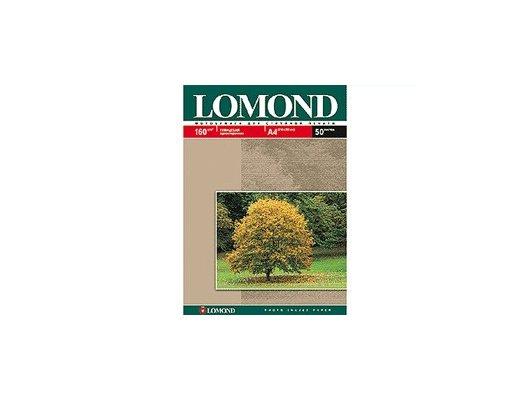 Фотобумага Lomond 0102055 A4/160г/м2/50л./белый глянцевое для струйной печати