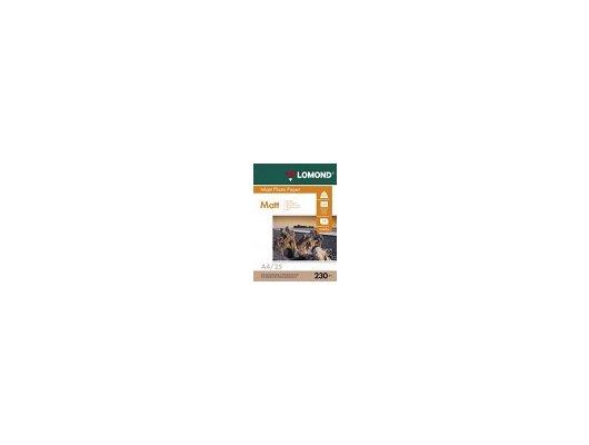 Фотобумага Lomond 0102050 A4/230г/м2/25л. матовая для струйной печати до 2880dpi