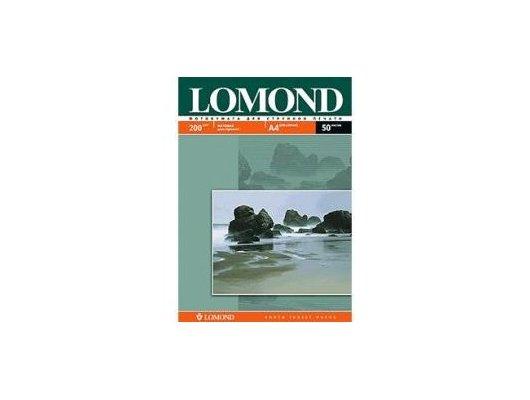Фотобумага Lomond 0102033 A4/200г/м2/50л. матовая для струйной печати до 2880dpi hv