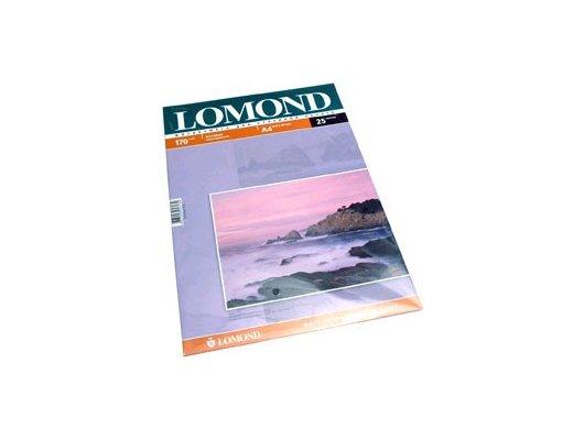 Фотобумага Lomond 0102032 A4/170г/м2/25л. матовая для струйной печати до 2880dpi