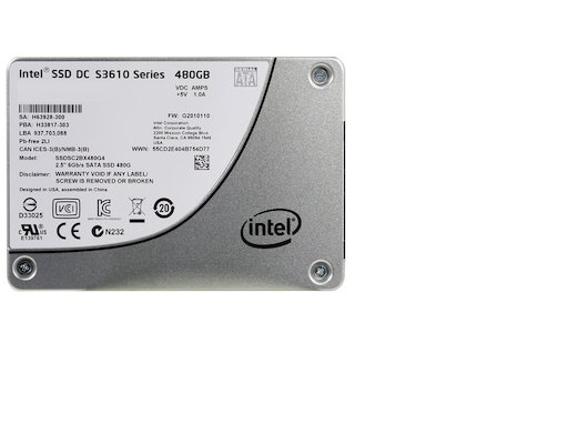 SSD жесткий диск Intel Original SATA III 480Gb SSDSC2BX480G401 S3610 Series 2.5""