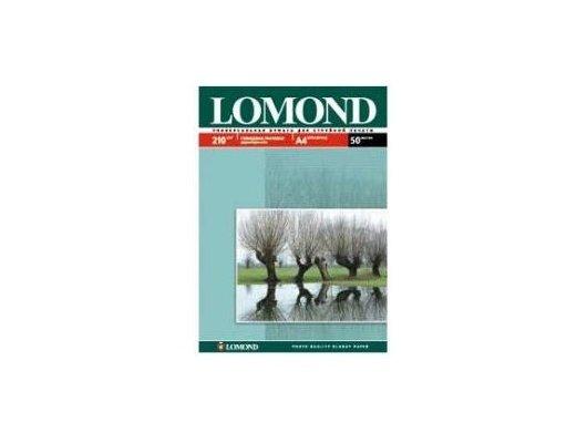 Фотобумага Lomond 0102021 A4/210г/м2/50л. глянцевая для струйной печати до 2880dpi