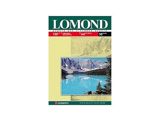 Фотобумага Lomond 0102017 A4/130г/м2/50л. глянцевая для струйной печати до 2880dpi hv