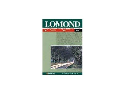 Фотобумага Lomond 0102004 A4/130г/м2/100л. матовая для струйной печати до 2880dpi hv