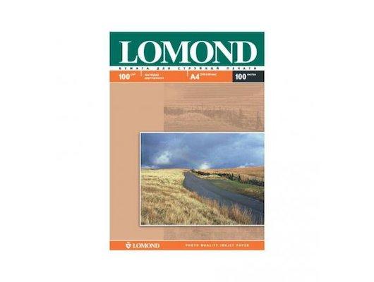 Фотобумага Lomond 0102002 A4/100г/м2/100л. матовая для струйной печати до 2880dpi hv