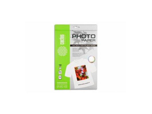 Фотобумага Cactus CS-TD15010 A4/150г/м2/10л. Термотрансфер для светлых тканей