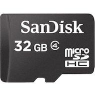 Фото Карта памяти SanDisk microSDHC 32Gb Class 4 (SDSDQM-032G-B35)