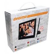 Фото Цифровая фоторамка Digma 8 PF-840 800x600 черный пластик ПДУ Видео