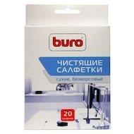 Чистящее средство BURO BU-Udry 20 шт для удаления пыли коробка 20шт сухих