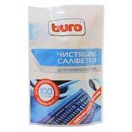 Фото Чистящее средство BURO BU-Zsurface 100 шт для поверхностей мягкая упаковка 100шт влажных