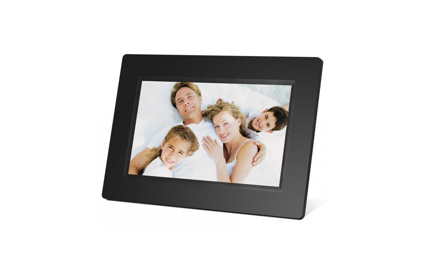 Цифровая фоторамка Digma 7 PF-731 800x480 черный пластик