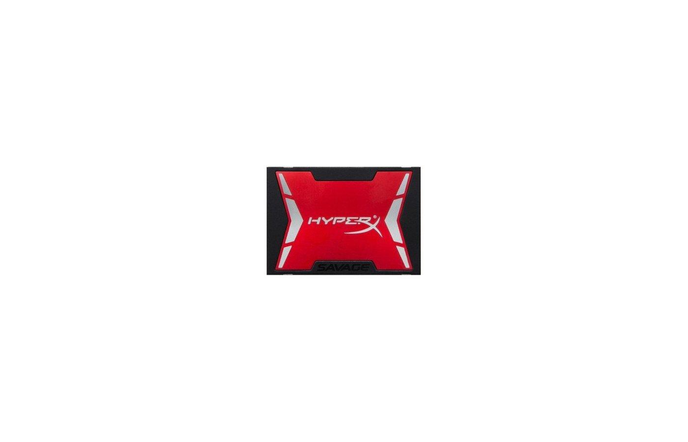 """SSD жесткий диск Kingston SATA III 240Gb SHSS3B7A/240G HyperX Savage 2.5"""""""