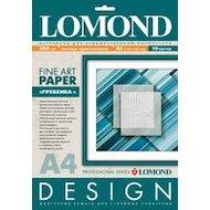"""Фото Фотобумага Lomond 0927041 A4/200г/м2/10л. матовая """"Гребенка"""" для струйной печати ярко-белая дизайнерская"""