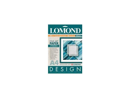 """Фотобумага Lomond 0927041 A4/200г/м2/10л. матовая """"Гребенка"""" для струйной печати ярко-белая дизайнерская"""