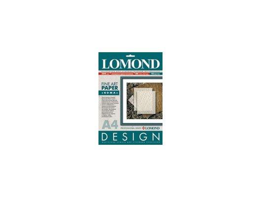 """Фотобумага Lomond 0918041 A4/200г/м2/10л. глянцевая """"Кожа"""" для струйной печати ярко-белая дизайнерская"""