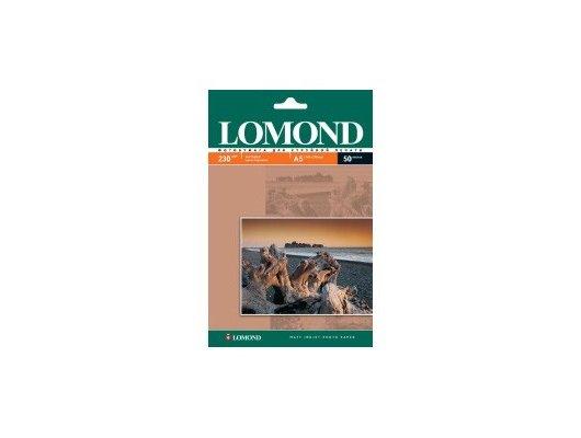 Фотобумага Lomond 0102069 A5/230г/м2/50л. матовая для струйной печати 720/1440dpi