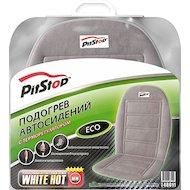 Фото Подогреватель сидения PITSTOP Eco 012, накидка с терморегулятором (серая) 48011