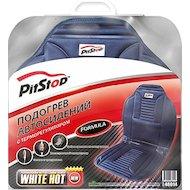 Фото Подогреватель сидения PITSTOP Formula 012, накидка с терморегулятором (серая) 48014