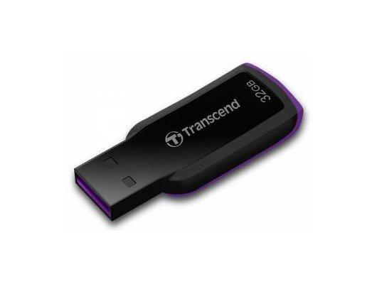 Флеш-диск USB 2.0 Transcend 32Gb Jetflash 360 TS32GJF360 черный/фиолетовый