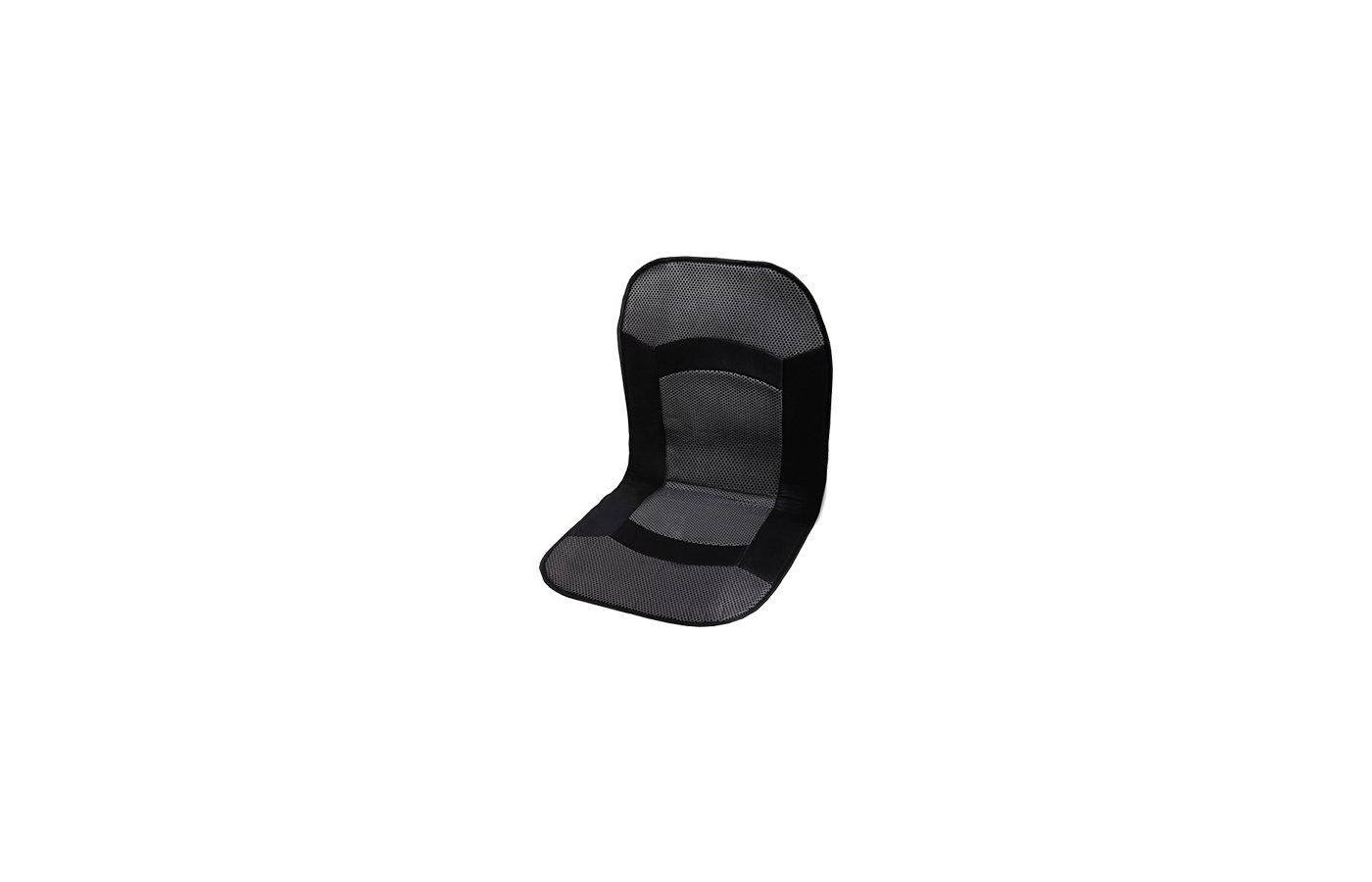 Подогреватель сидения PITSTOP Eco 012, накидка с терморегулятором (серая) 48011