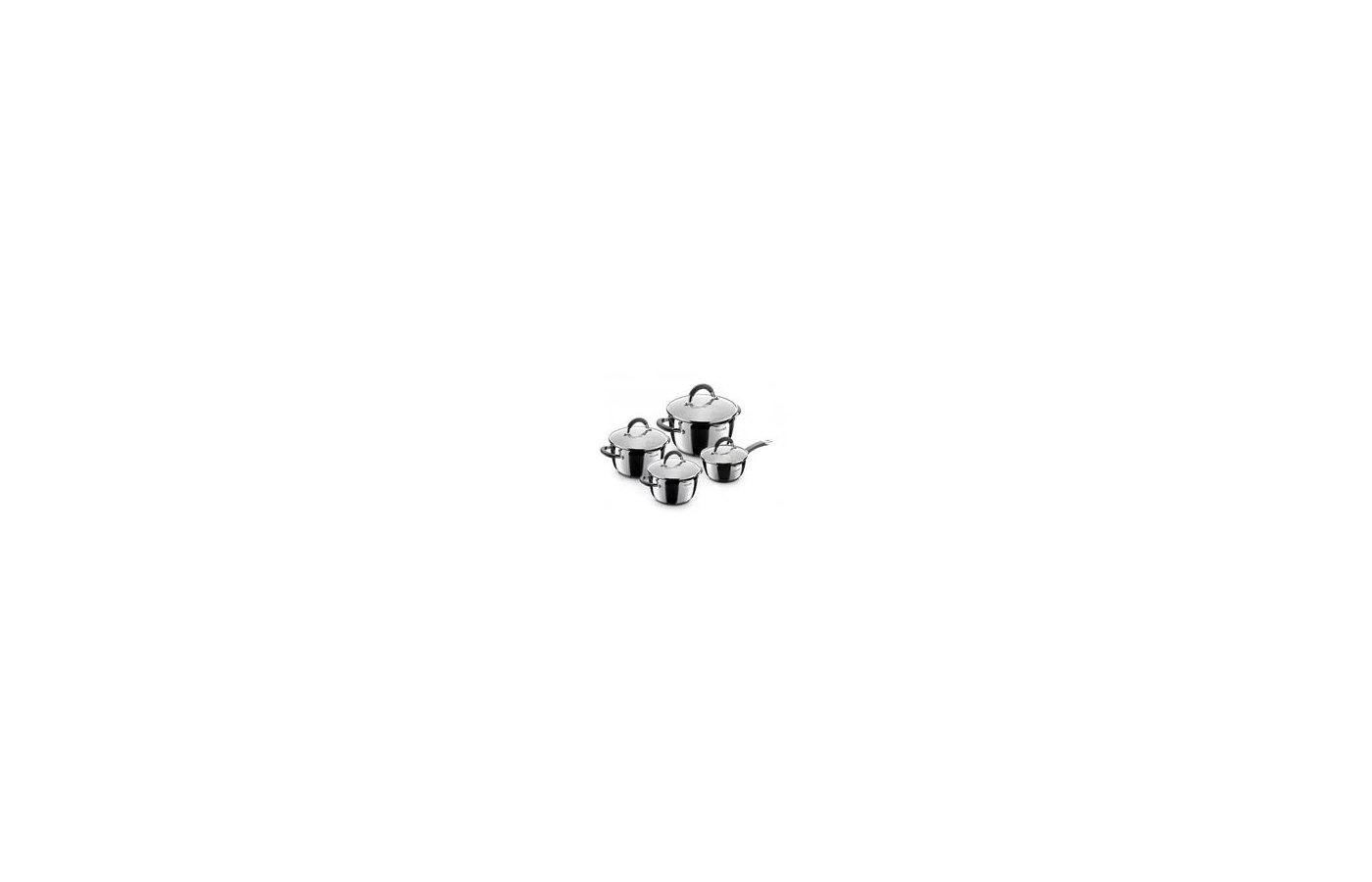 Набор посуды  Rondell RDS-040 Flamme 8 пр: кастрюли 18/20/24см с/кр ковш 16 см с/кр