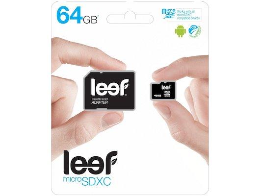 Карта памяти LEEF microSDXC 64Gb Class 10 + адаптер (LMSA0KK064R5)