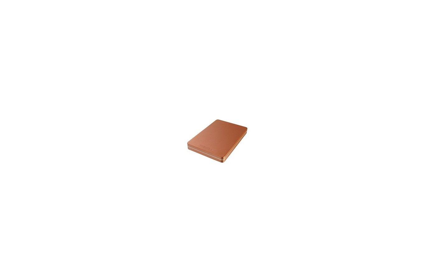 """Внешний жесткий диск Toshiba USB 3.0 1Tb HDTH310ER3AA Canvio Alu 2.5"""" красный"""