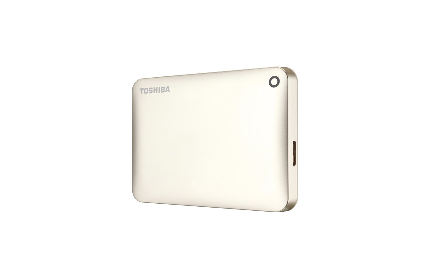Внешний жесткий диск Toshiba HDTC805EC3AA 500Gb USB 3.0 CANVIO Connect II 2.5 золотистый