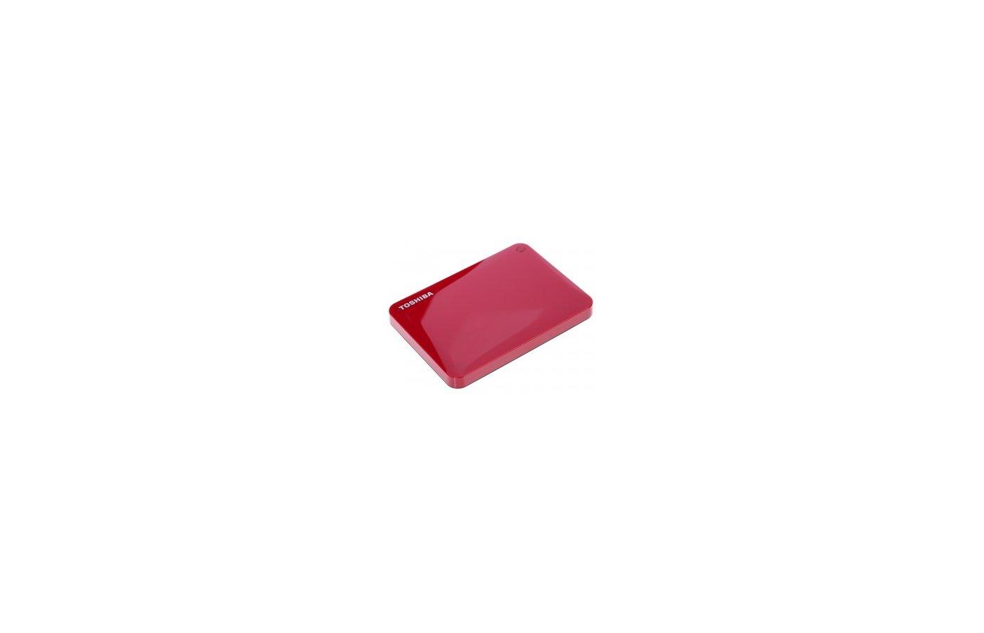 Внешний жесткий диск Toshiba HDTC805ER3AA 500Gb CANVIO Connect II красный
