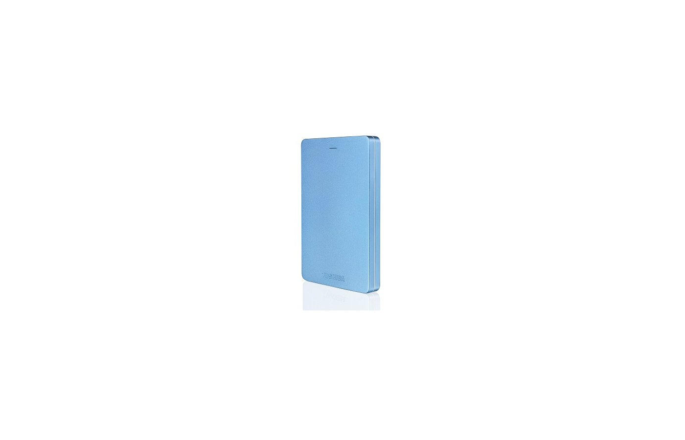 "Внешний жесткий диск Toshiba USB 3.0 500Gb HDTH305EL3AA Canvio Alu 2.5"" голубой"