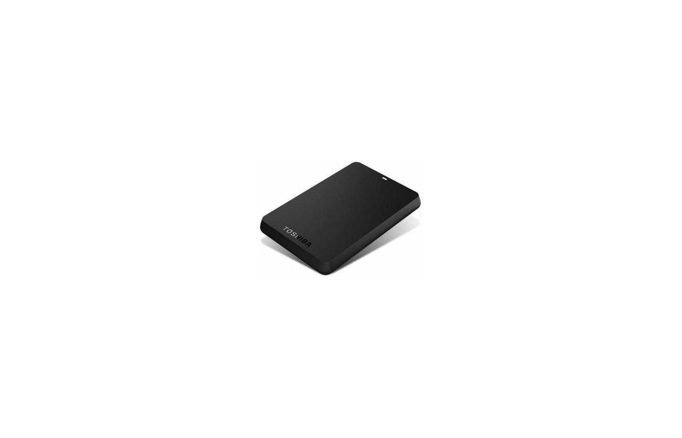 Внешний жесткий диск Toshiba HDTB320EK3CA 2Tb USB 3.0 Canvio Basics 2.5 черный