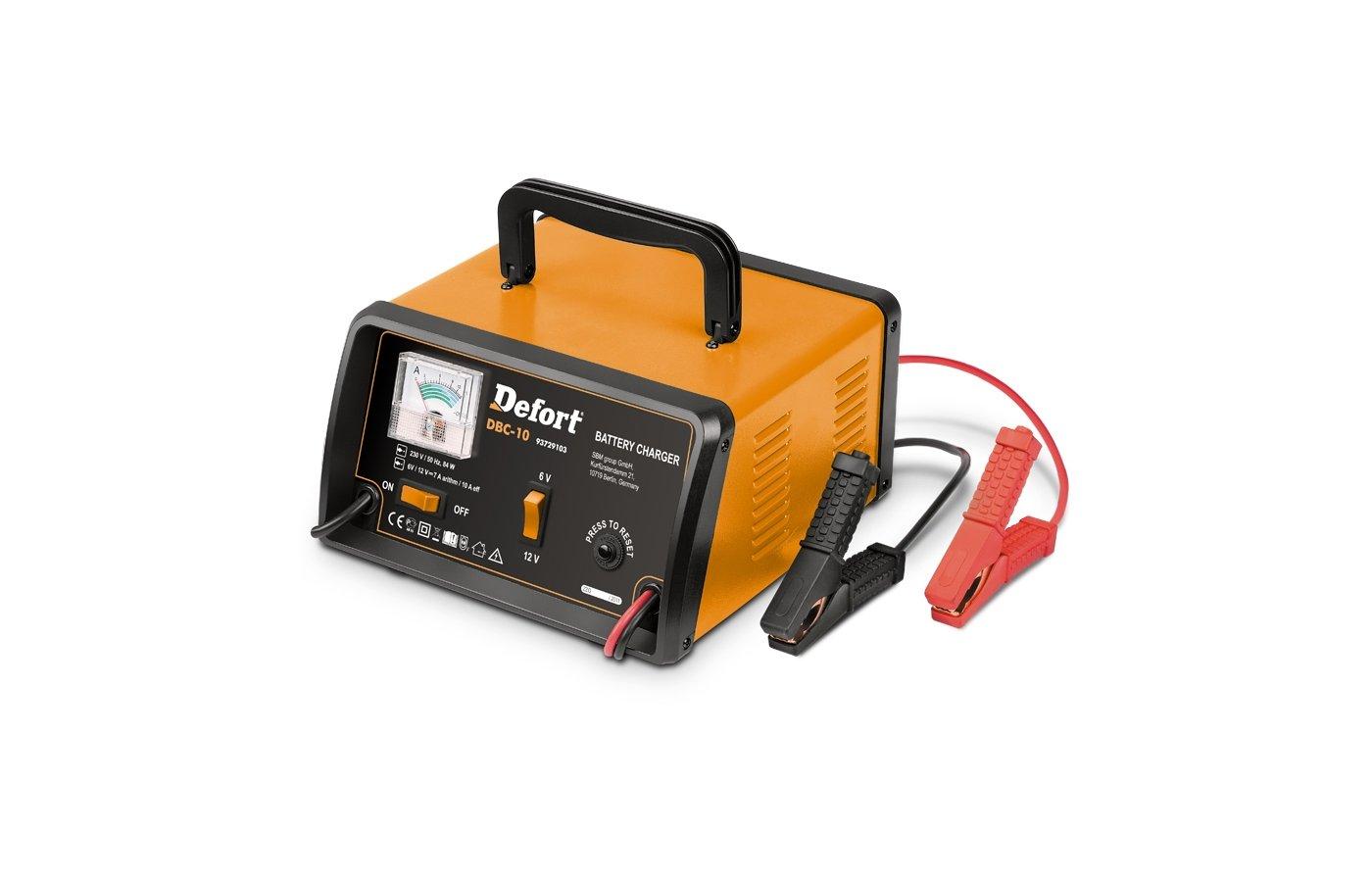 Автомобильное зарядное устройство DEFORT DBC-10