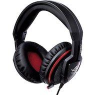 Фото Игровые наушники проводные Asus Orion for Console черный/красный