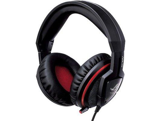 Игровые наушники проводные Asus Orion for Console черный/красный